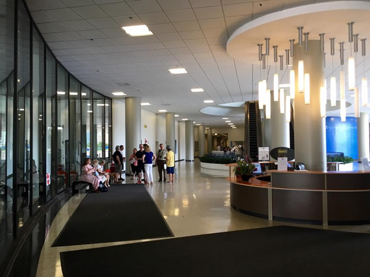 Lobby of River City