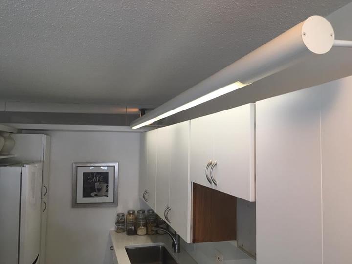 Original light in the kitchen