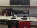 Original kitchen with original appliances