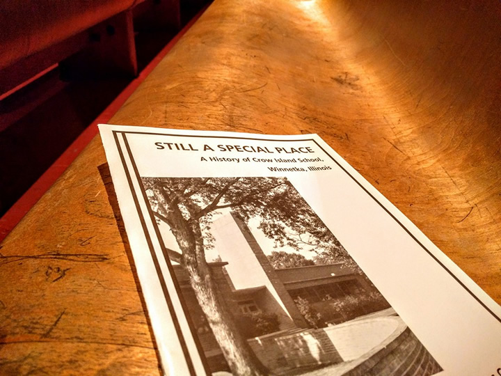 All attendees received this historical booklet with the history of the school's design