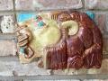 Relief sculptures by Lily Swan Saarinen