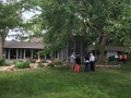 The owners planted the stately Elm tree that shades the screen porch over 40 years ago.