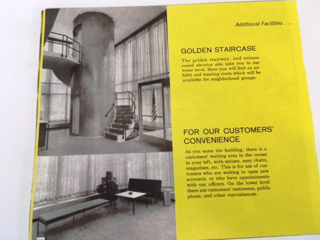 The original North Federal Savings brochure