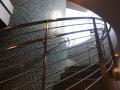 Elevator column detail