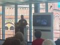 Lee continues his presentation