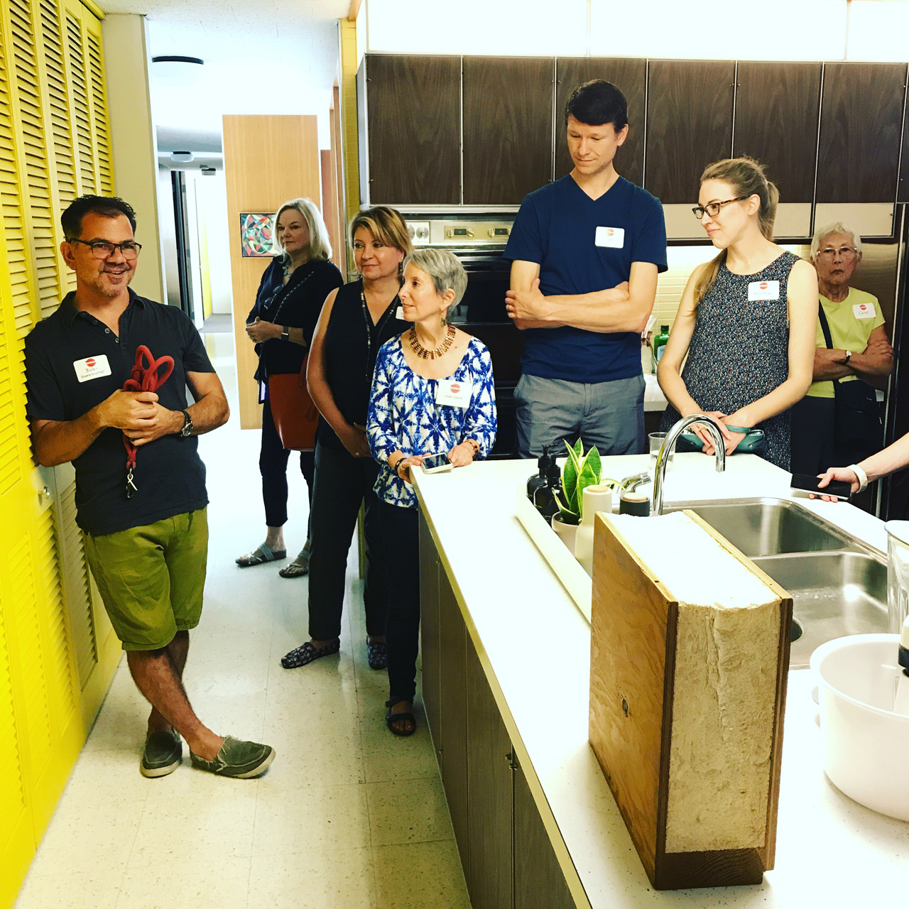 CBB's tour of the Frost House