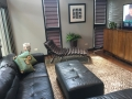 Great chaise lounge in the family room!
