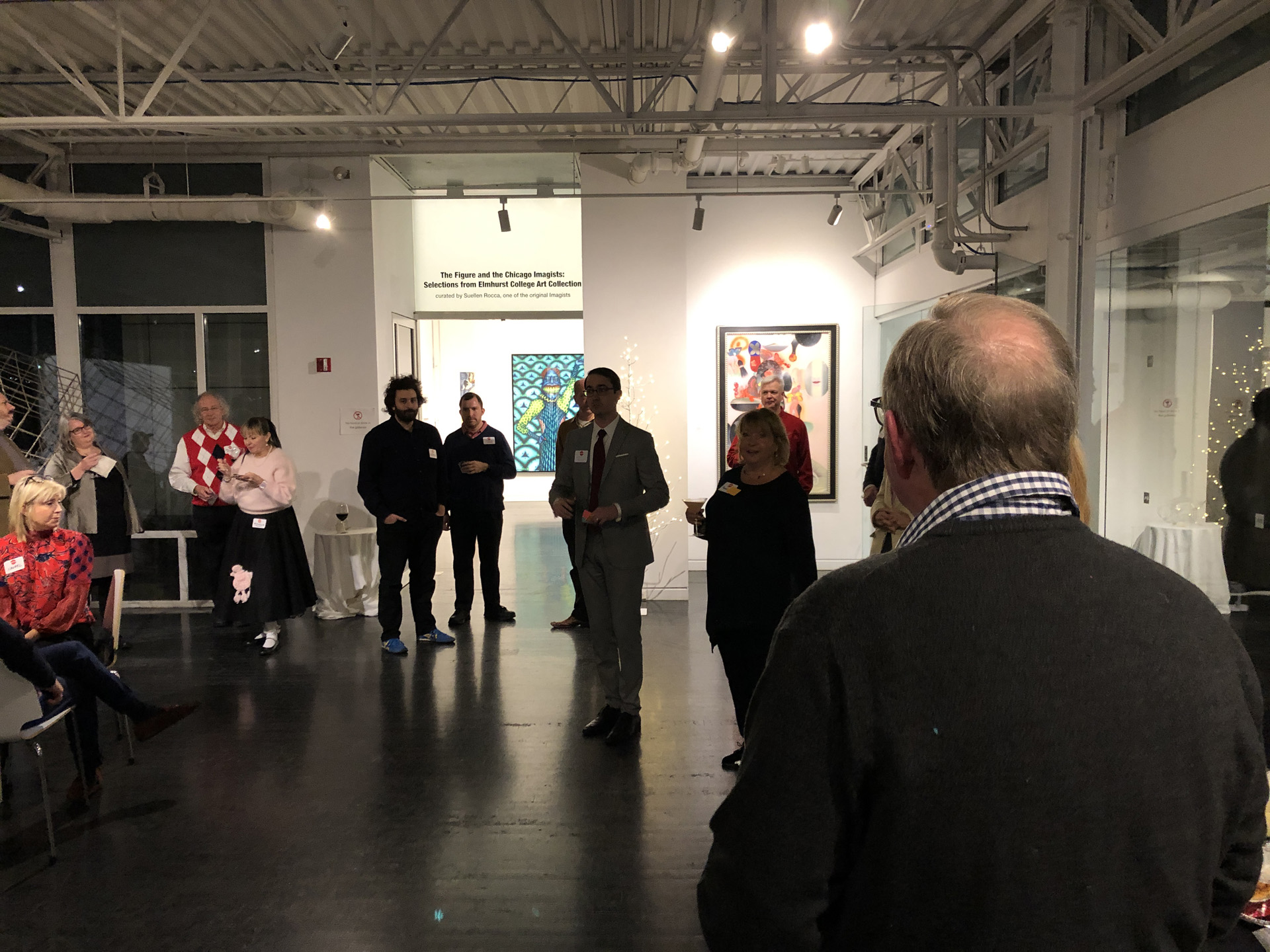 CBB's 2018 holiday party at the Elmhurst Art Museum
