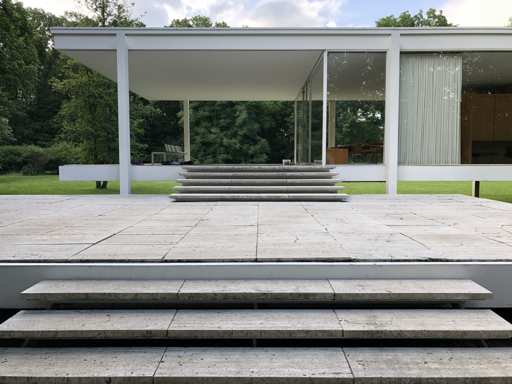 CBB's outing to the Farnsworth house by Mies van der Rohe on June 29th, 2019