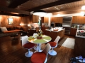 What a fantastic open kitchen / dinette / family room!
