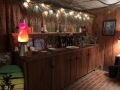 The lower level features a fantastic tiki lounge area