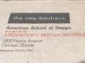 Bauhaussign