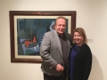T. Paul Young, curator and Randi Merel from CBB